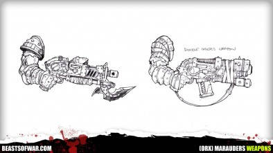 Warpath Marauders Weapons 2