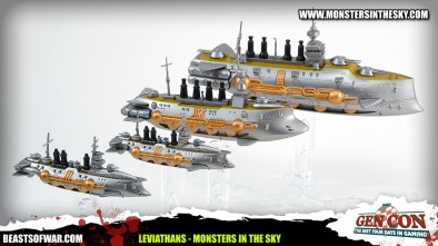 Leviathans: Monsters in the Sky