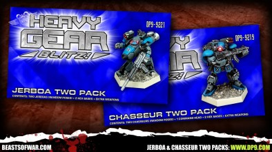 Jerboa & Chasseur Two Packs