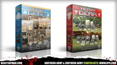 Northern Army & Southern Army Starter Kits