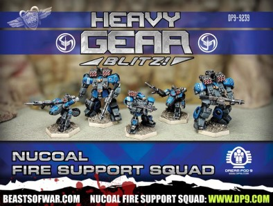 NuCoal Fire Support Squad