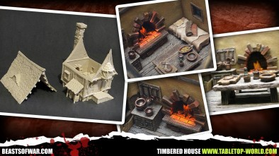 Tabletop World - Timbered House