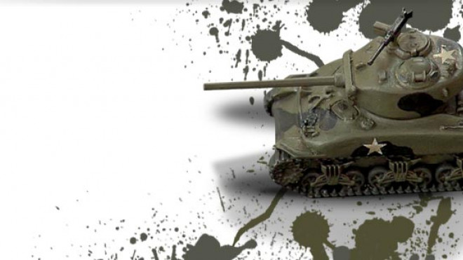 3 Colours Up: Painting a WW2 Sherman Tank Part 2 of 2