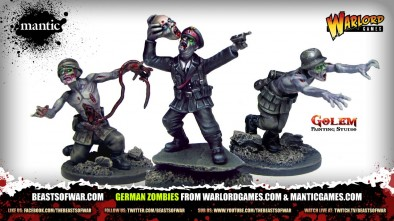 Warlord & Mantic German Zombies