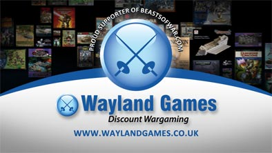 Wayland Proud Supporter of Beasts of War