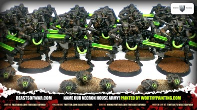 Worth Painting Beasts of War Necron House Army