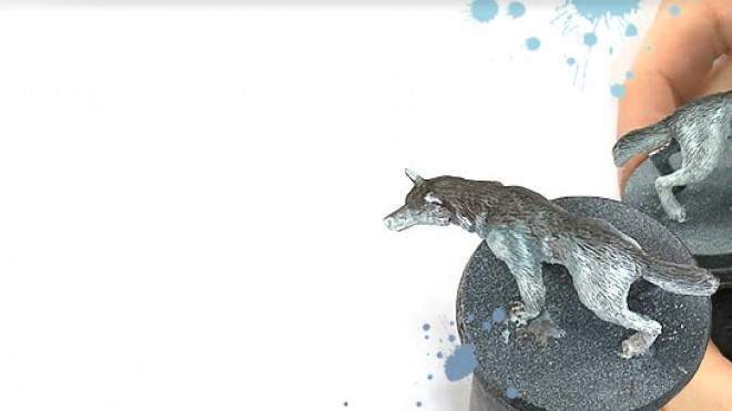 3 Colours Up Tips: Painting Wolf Fur