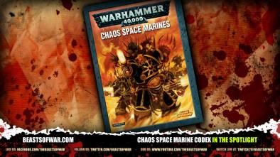 Chaos Space Marine Codex In The Spotlight