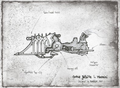 Gothic Jetbike Concept