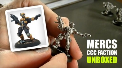 Mercs CCC Faction Unboxed