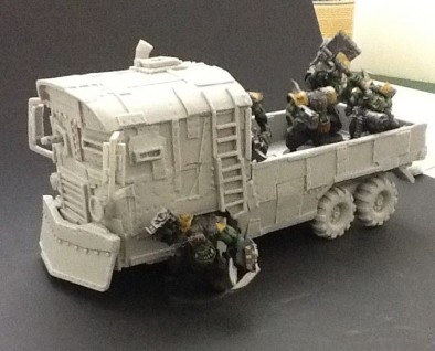 Puppet Wars Orc Battle Bus