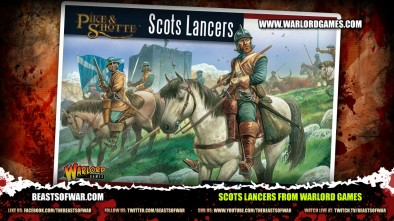 Scots Lancers from Warlord Games