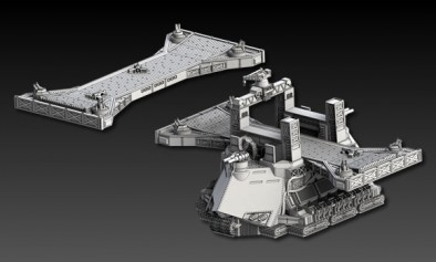 Seydlitz Class Airfield Seperated Components