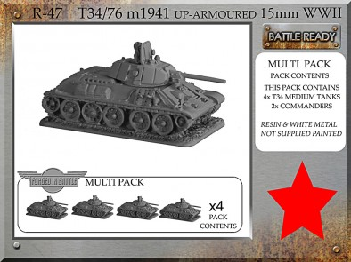 T34-76 m1941 up Armoured