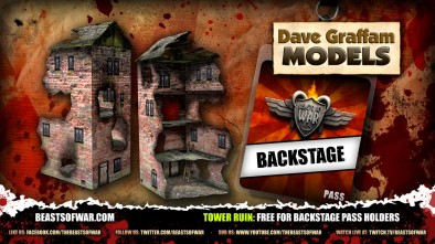 Tower Ruin Free For Backstage Pass Holders