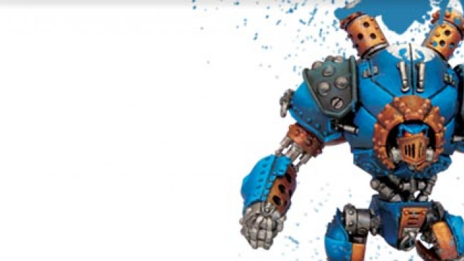 3 Colours Up: Painting a Cygnar Ironclad Warjack… Part 4