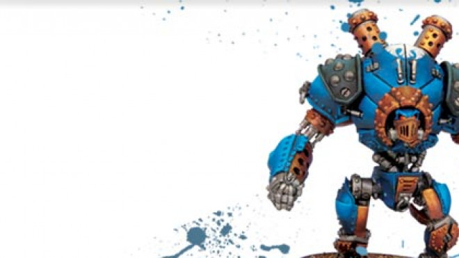 3 Colours Up: Painting a Cygnar Ironclad Warjack… Part 5