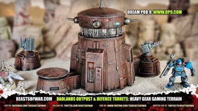 Heavy Gear Badlands Outpost 1
