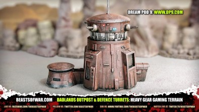 Heavy Gear Badlands Outpost 2