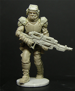 Corporation Soldier Standing