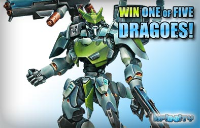 Win 1 of 5 Dragoes