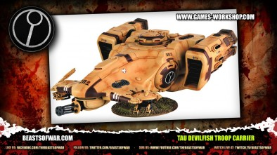 tau Devilfish Troop Carrier