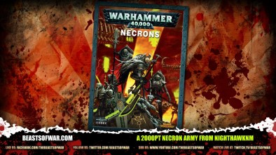 A 2000pt Necron Army From Nnighthawknm