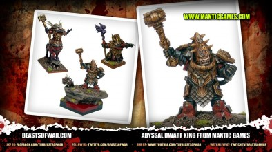 Abyssal Dwarf King From Mantic Games
