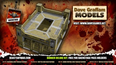 Bunker Deluxe Kit Free for Backstage Pass Holders