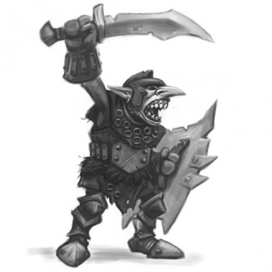 Goblin Warrior Concept