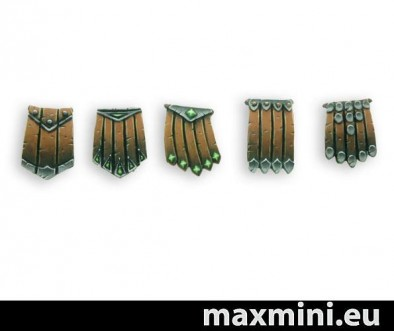 MaxMini Leather Lappets