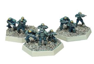 NuCoal Infantry Section #1