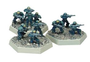 NuCoal Infantry Section #2