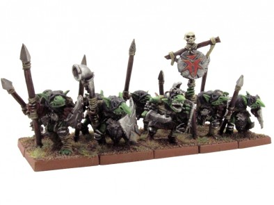 Painted Goblins Close Up