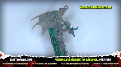 Painting a Confrontation Gargoyle... Part Four