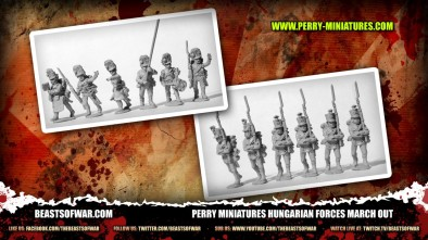 Perry Miniatures Hungarian Forces March Out 2