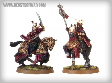 The Easterling Dragon King and Warrior Priest