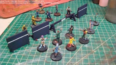 28mm Crowd Control WIP