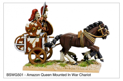 Amazon Queen War Chariot
