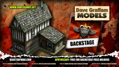 Apothecary Free for Backstage Pass Holders