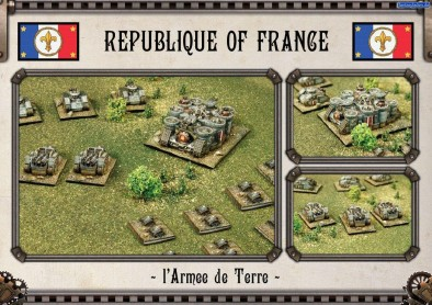 Armoured Battle Group Painted Preview