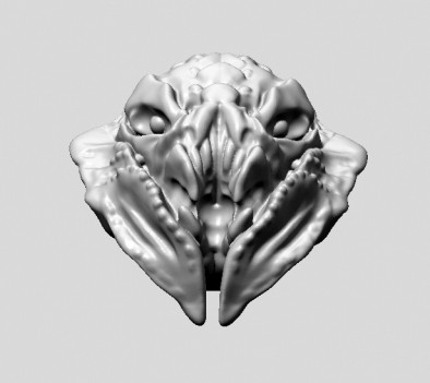 Bug Head Render Preview
