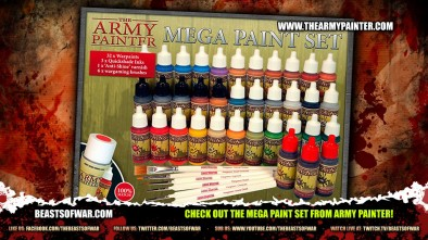 Check out the Mega Paint Set from Army Painter!