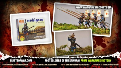 Footsoldiers of the Samurai... Ashigaru from Wargames Factory