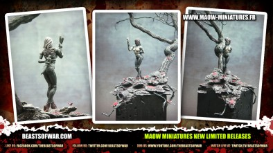 MAOW Miniatures New Limited Releases