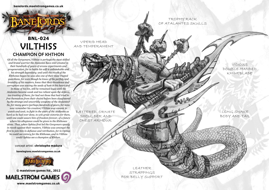 Vilthiss Slitherss Out of Maelstrom Gamess – OnTableTop – Home of