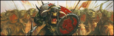 Orcs and Goblins Banner