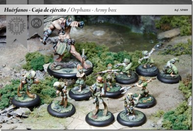 Orphans Army Faction