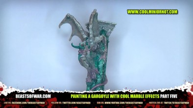 Painting a Confrontation Gargoyle... Part Five