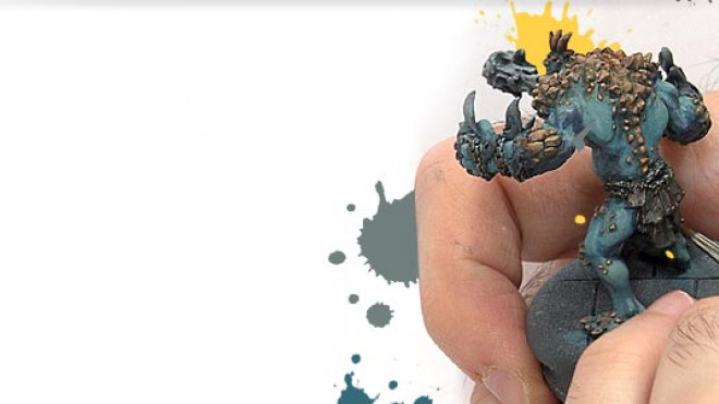Painting a Trollblood Pyre Troll… Part 3